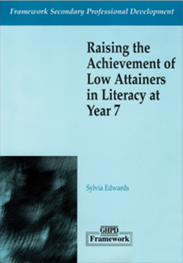 Raising the Achievement of Low Attainers in Literacy at Year 7 (Framework Secondary Professional Development) cover